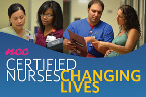 NCC Certified Nurses Changing Lives
